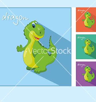 Free icons with a dragon vector - vector #234573 gratis