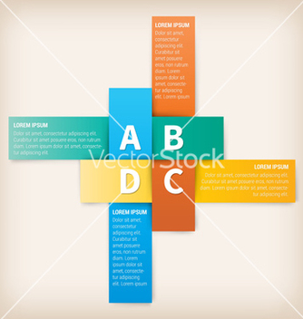 Free modern design template for website or print vector - vector #234843 gratis