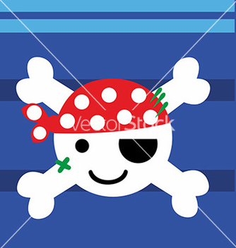 Free pirate baby vector - Free vector #234853