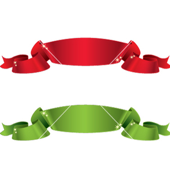 Free satin ribbons vector - бесплатный vector #234873