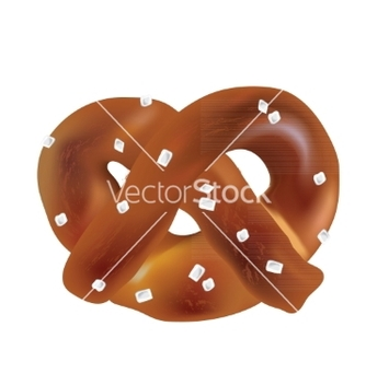 Free soft bavarian pretzels objects vector - vector gratuit #234883