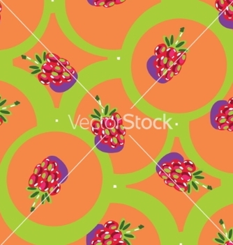 Free seamless backgrounds with fruits vector - vector #235203 gratis