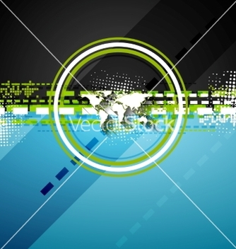 Free bright technology flat style background vector - Free vector #235303