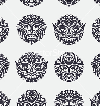 Free tribal seamless pattern vector - Free vector #235613