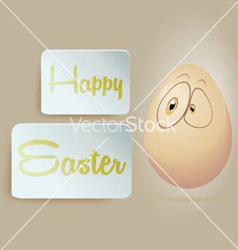 Free egg happy easter vector - vector #235693 gratis