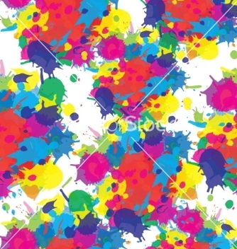 Free indian festival seamless pattern colors splash vector - бесплатный vector #235733