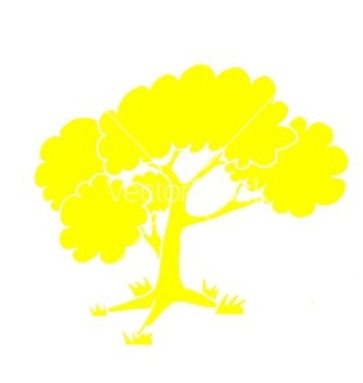 Free color tree vector - vector gratuit #235863