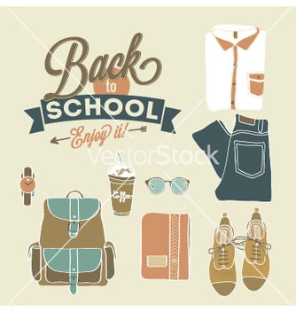 Free school icons vector - бесплатный vector #235923