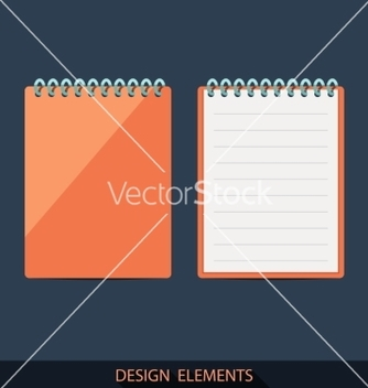 Free set of pads in a flat style vector - бесплатный vector #235973