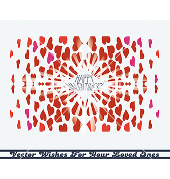 Free hearts kaleidoscope vector - бесплатный vector #236023