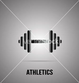 Free barbell icon vector - vector #236143 gratis