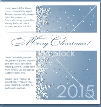 Free christmas blue background with snowflakes vector - Kostenloses vector #236333