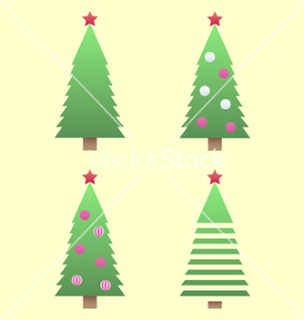 Free christmas tree gradient vector - бесплатный vector #236383