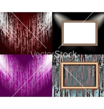 Free set of background with frames and spotlights vector - vector gratuit #236753