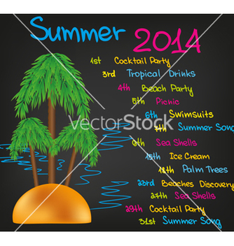 Free summer vector - Free vector #237363