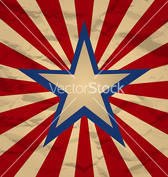 Free holiday background for independence day retro vector - vector #237663 gratis