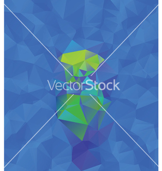 Free abstract blue geometric background vector - Free vector #237823