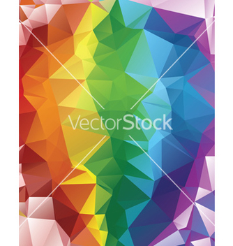 Free rainbow polygonal background2 vector - Kostenloses vector #237913