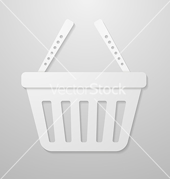 Free paper icon of shopping cart vector - Free vector #237963