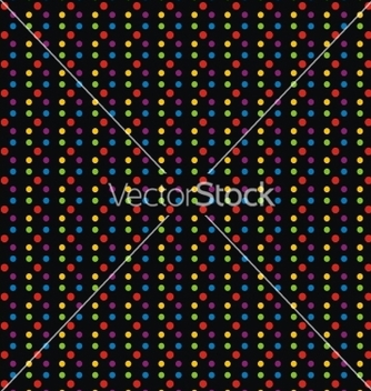 Free black background with colorfull dots vector - vector #238183 gratis