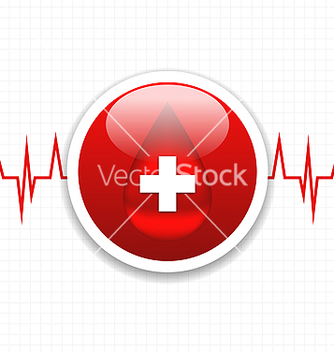 Free abstract medical background save life heart vector - Free vector #238233