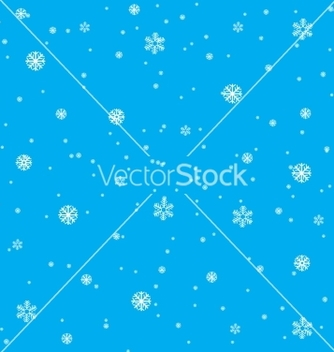 Free background from snowflake vector - vector #238363 gratis