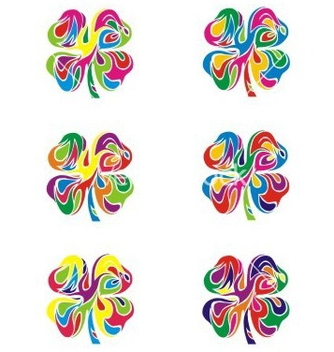 Free colorfull abstract flower vector - Free vector #238393