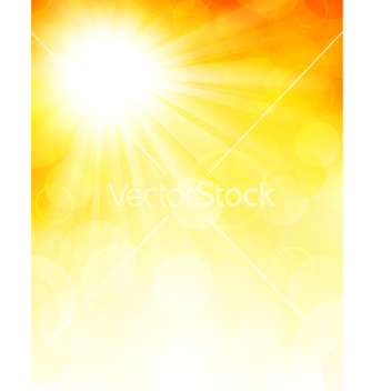 Free autumn background with sun vector - vector gratuit #238833