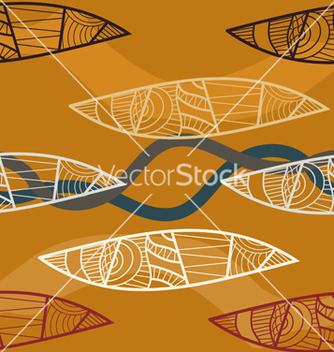 Free seamless texture of ethnic tribal style vector - Free vector #238873