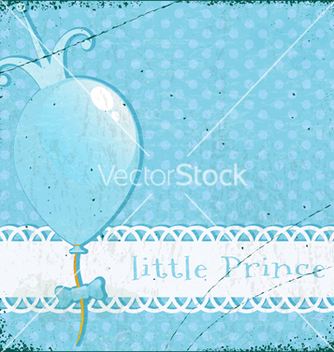 Free retro background little prince vector - vector gratuit #238883