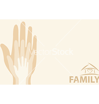 Free hands of the family vector - Kostenloses vector #239053