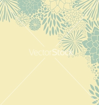 Free floral background vector - Free vector #239083