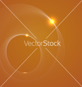 Free abstract yellow background with a spiral vector - Free vector #239393