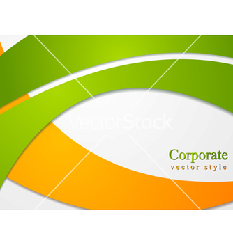 Free bright corporate card design vector - Free vector #239483