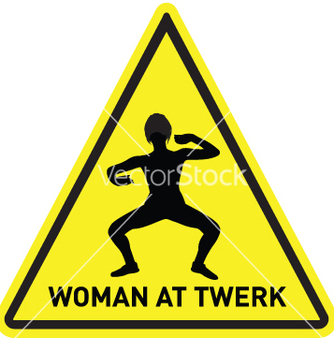 Free woman at twerk vector - Free vector #239553