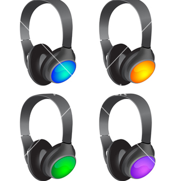 Free headphones vector - бесплатный vector #239633