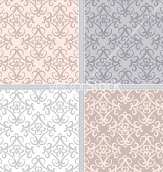 Free pastel ethnic seamless pattern vector - Free vector #239863
