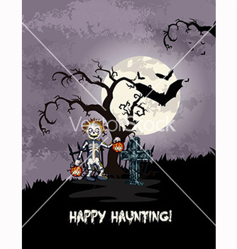 Free halloween background vector - бесплатный vector #239883