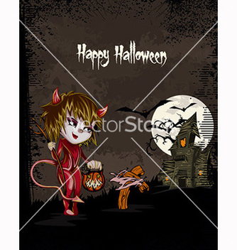 Free halloween background vector - Free vector #239913