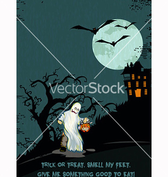 Free halloween background vector - vector gratuit #239933