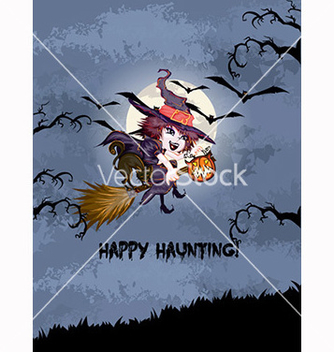 Free halloween background vector - Free vector #239953