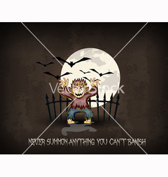 Free halloween background vector - бесплатный vector #239973