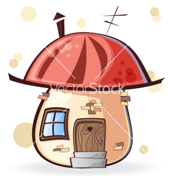 Free cartoon house vector - vector gratuit #240003
