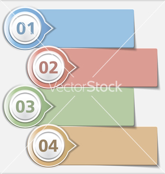 Free design template with four elements vector - Free vector #240193