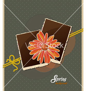 Free floral background vector - Free vector #240313