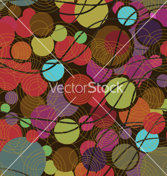 Free colorful pattern with geometric shapes vector - vector #240903 gratis