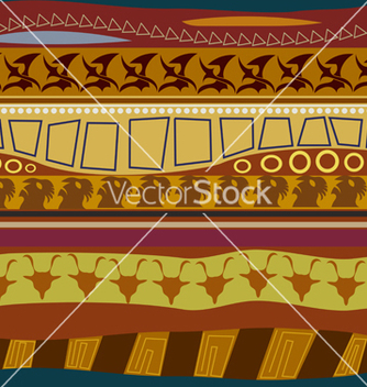 Free tribal pattern seamless texture vector - Kostenloses vector #241163