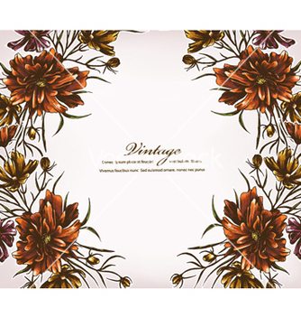Free floral background vector - Free vector #241213