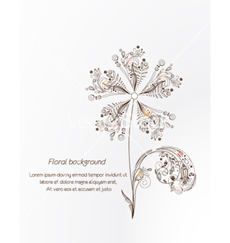 Free floral vector - Free vector #241473