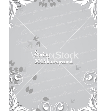 Free floral background vector - Free vector #241573